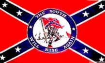 THE SOUTH WILL RISE AGAIN (CONFEDERATE) - 3 X 2 FLAG